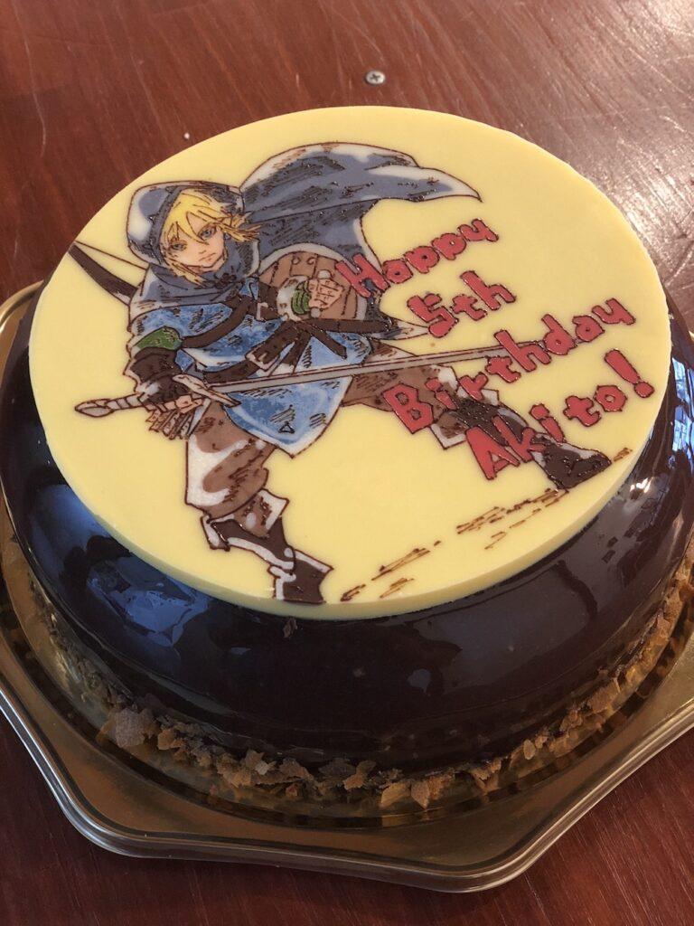 ゼルダの伝説 キャラクターケーキ