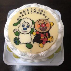 いないいないばあっ! キャラクターケーキ