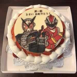 仮面ライダー キャラクターケーキ