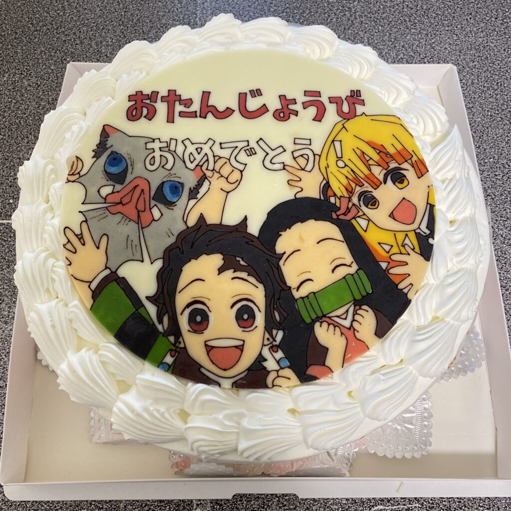 鬼滅の刃 キャラクターケーキ