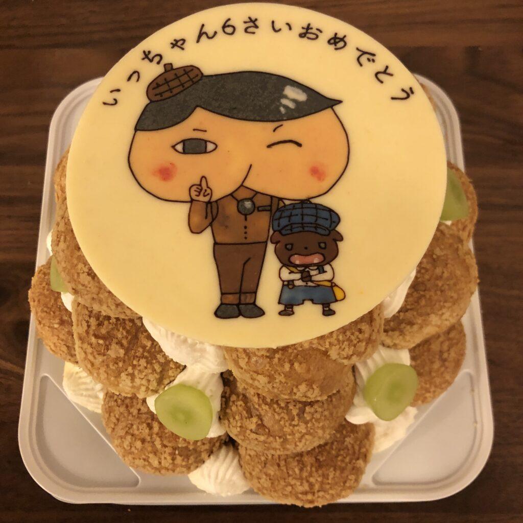 おしりたんてい キャラクターケーキ