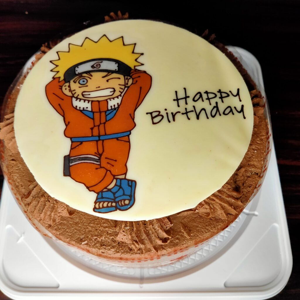 NARUTO キャラクターケーキ