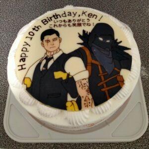 フォートナイト キャラクターケーキ