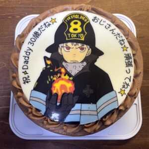 炎炎ノ消防隊 キャラクターケーキ