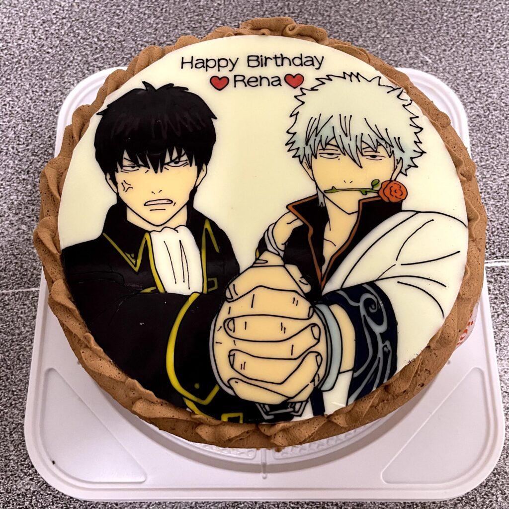 銀魂 キャラクターケーキ